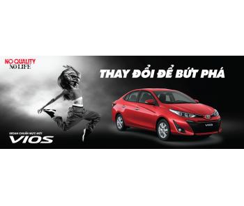 Toyota Việt Nam giảm giá niêm yết cho dòng xe Toyota Vios